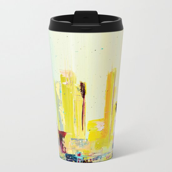 THE END OF SUMMER Metal Travel Mug