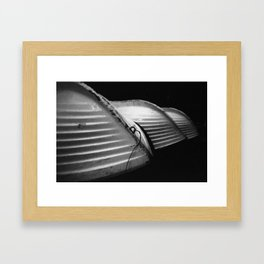 Row Boats 1 Framed Art Print