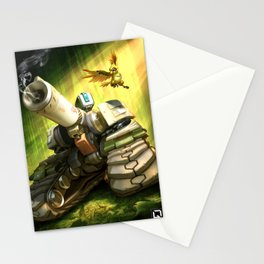 over bastion Stationery Cards