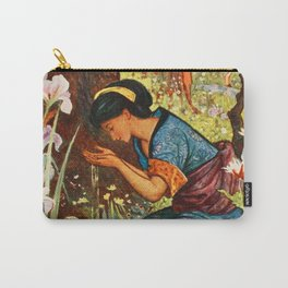 The Girl with the Wooden Helmet Carry-All Pouch