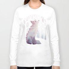 Fox in the Snow Long Sleeve T-shirt