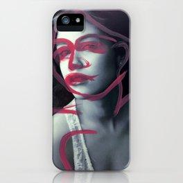 Adrienne iPhone Case