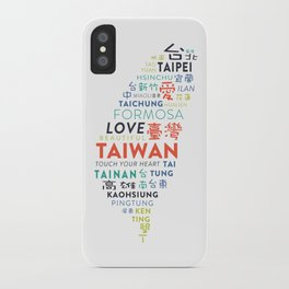 TAIWAN 2 iPhone Case