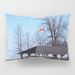 Shelter by the Lake Pillow Sham