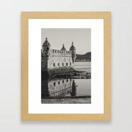 Belem Tower Framed Art Print