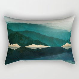 Waters Edge Reflection Rectangular Pillow