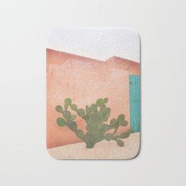 Strong Desert Cactus Bath Mat