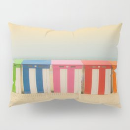 Beach cabins Malo Pillow Sham