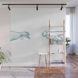 Seal Love Wall Mural