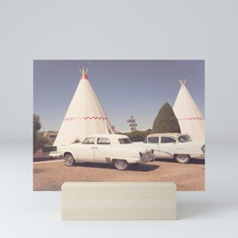 Sleep at the Wigwam Mini Art Print