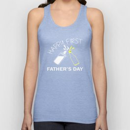 Happy First Father's Day T shirt 2017 Unisex Tank Top