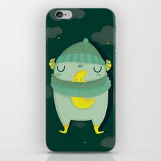 Hug the moon iPhone & iPod Skin