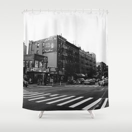 East Village Streets Shower Curtain