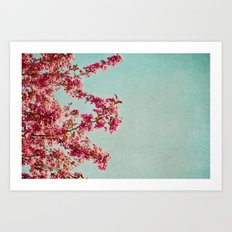beauty of the day Art Print