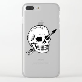 Dead but OK Clear iPhone Case