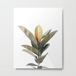 Vintage Foliage Metal Print