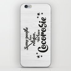 Some people have religion, we have Cocorosie iPhone & iPod Skin