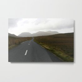 go your own way Metal Print