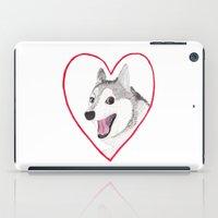 valentine iPad Cases featuring Valentine by okayleigh