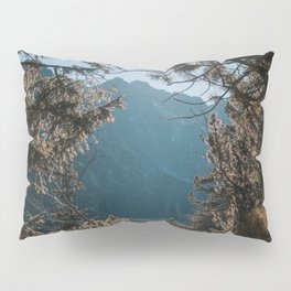 On the trail - Landscape and Nature Photography Pillow Sham