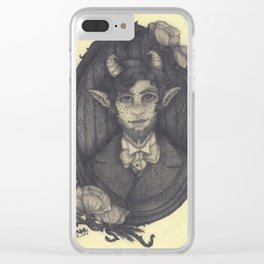 The Faun of Westminster Clear iPhone Case