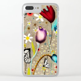 Rupydetequila - Bohemian Paradise Clear iPhone Case