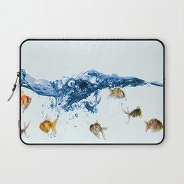 Keep swiming Laptop Sleeve
