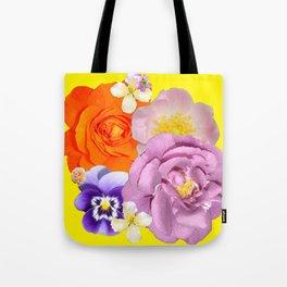 Bright Florals Tote Bag