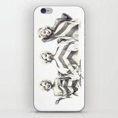 Monroe Trio iPhone & iPod Skin