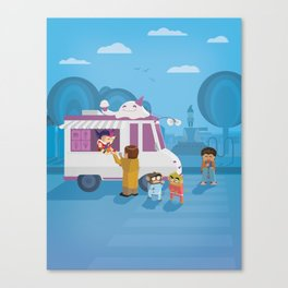 The Nick Yorkers in August Canvas Print