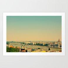 Budapest, Hungary  Art Print