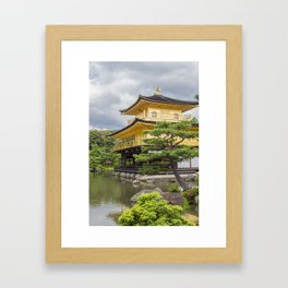 Japan Golden Pagoda Framed Art Print