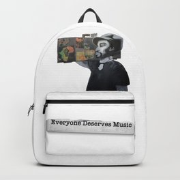 EVERYONE DESERVES MUSIC HIS WAY Backpack
