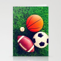 sports Stationery Cards featuring SPORTS by Ylenia Pizzetti