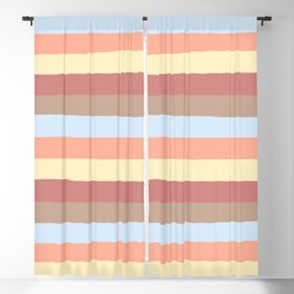 lumpy or bumpy lines abstract - QAB281 Blackout Curtain