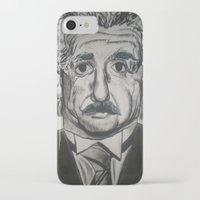 einstein iPhone & iPod Cases featuring Einstein  by jleto123
