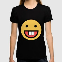 Smiley Face   Big Tooth Out   Smiling Teeth Mouth T-shirt