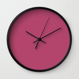 Raspberry rose Wall Clock