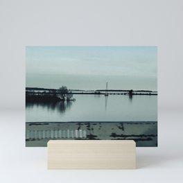 """""""Lake Erie waterways"""" photography by Willowcatdesigns Mini Art Print"""