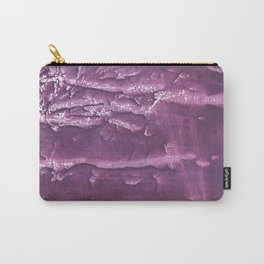 Dark purple painting Carry-All Pouch