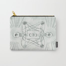 Samadhi white Carry-All Pouch