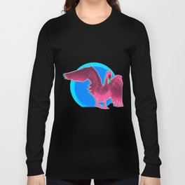 The swan and the sunset Long Sleeve T-shirt