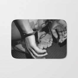 Handcuffed Bath Mat