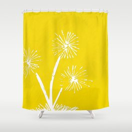 Dandelion 2 Shower Curtain