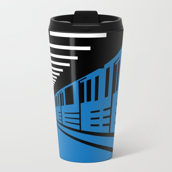 Station Metal Travel Mug