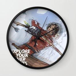 Rise of Tomb Raider (Lara Croft) Wall Clock