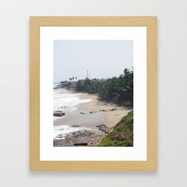 Untouched African Sands Framed Art Print