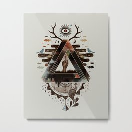 All Impossible Eye Metal Print
