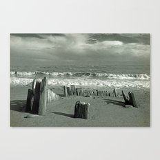BEACH WORSHIP Canvas Print