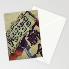 United Foods Neon Sign, Chinatown Stationery Cards